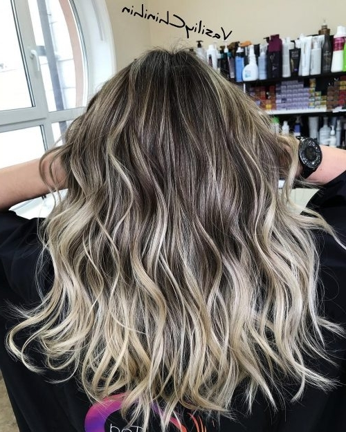 38 Hottest Ombré Hair Color Ideas Of 2018 With Regard To Grown Out Platinum Ombre Blonde Hairstyles (View 14 of 25)
