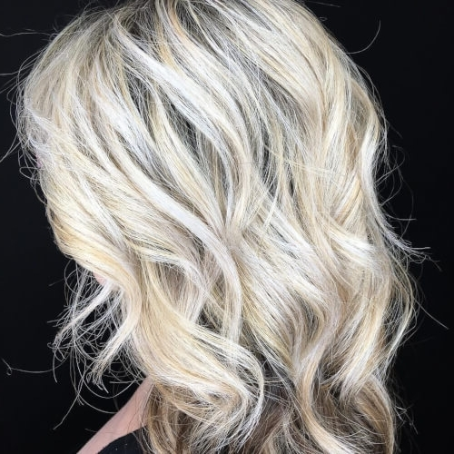 38 Incredible Silver Hair Color Ideas In 2018 Intended For Silver Blonde Straight Hairstyles (View 25 of 25)