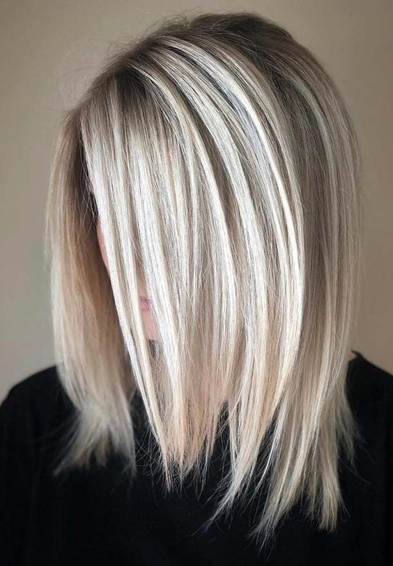 38 Sparkling Bright Blonde Hair Color Ideas For 2018 | Haircuts With Regard To Choppy Cut Blonde Hairstyles With Bright Frame (View 7 of 25)