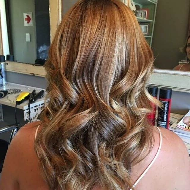 38 Top Blonde Highlights Of 2018 – Platinum, Ash, Dirty, Honey & Dark For Light Copper Hairstyles With Blonde Babylights (View 11 of 25)