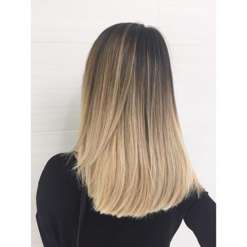 38 Top Blonde Highlights Of 2018 – Platinum, Ash, Dirty, Honey & Dark Pertaining To Beige Balayage For Light Brown Hair (View 8 of 25)