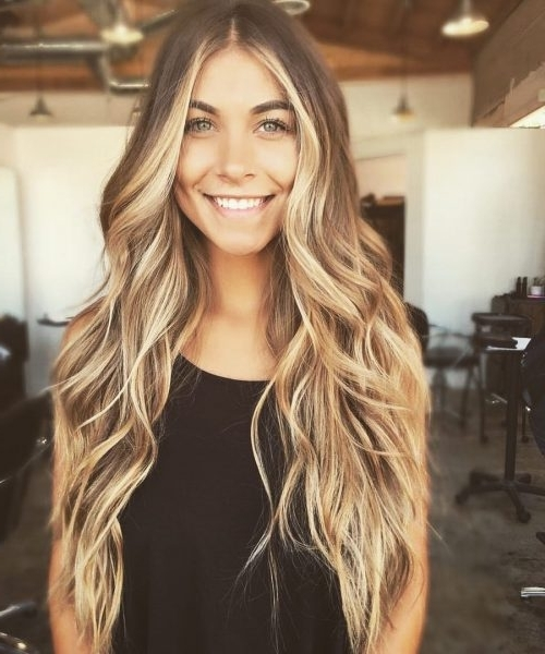 38 Top Blonde Highlights Of 2018 – Platinum, Ash, Dirty, Honey & Dark Regarding Dirty Blonde Hairstyles (View 8 of 25)