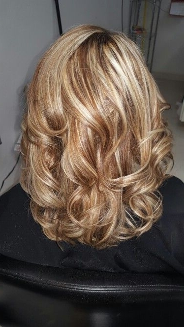 39 Best Hair Images On Pinterest | Beauty Makeup, Hair Cut And In Warm Blonde Curls Blonde Hairstyles (View 20 of 25)