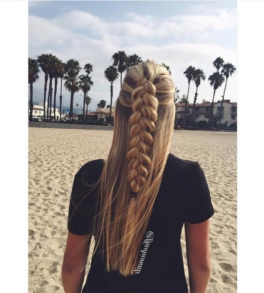 4 Pretty Braided Hairstyles | Hairstyle Mag For Beachy Braids Hairstyles (View 10 of 25)