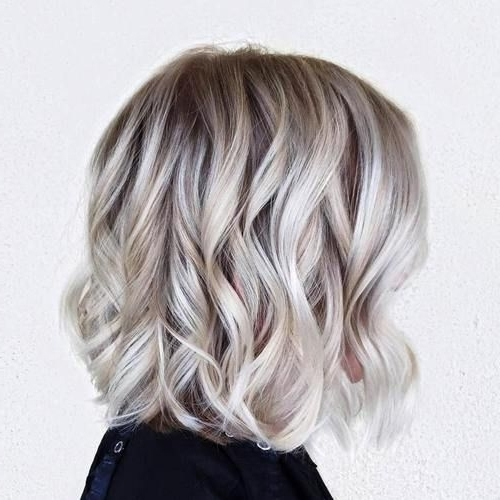 40 Banging Blonde Bob And Blonde Lob Hairstyles | Blonde Lob, Lob Within Ice Blonde Lob Hairstyles (View 14 of 25)