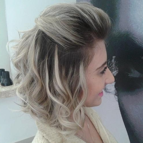 40 Banging Blonde Bobs Hair Styles – Page 37 – Foliver Blog With Half Updo Blonde Hairstyles With Bouffant For Thick Hair (View 5 of 25)