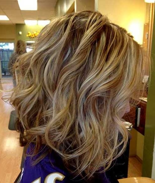 40 Beachy Waves Short Hair | Short Hairstyles 2017 – 2018 | Most Inside Beachy Waves Hairstyles With Blonde Highlights (View 2 of 25)