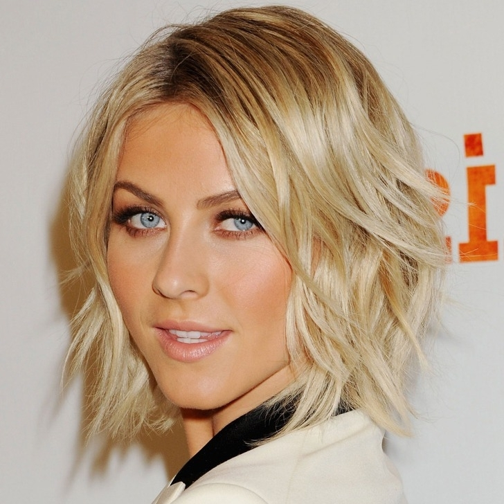 40 Best Bob Haircuts And Hairstyles In 2018 In Shaggy Chin Length Blonde Bob Hairstyles (View 18 of 25)