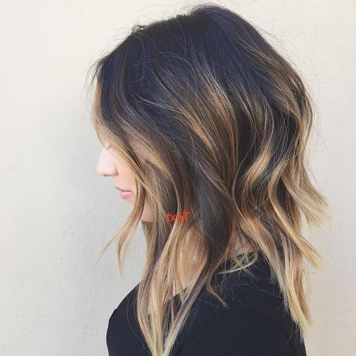 40 Best Bob Haircuts And Hairstyles In 2018 Regarding Newest Piece Y Pixie Haircuts With Subtle Balayage (View 23 of 25)