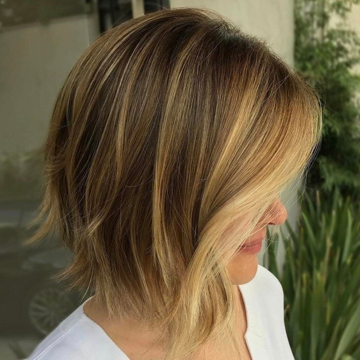 40 Best Bob Haircuts And Hairstyles In 2018 Within Shaggy Highlighted Blonde Bob Hairstyles (View 18 of 25)
