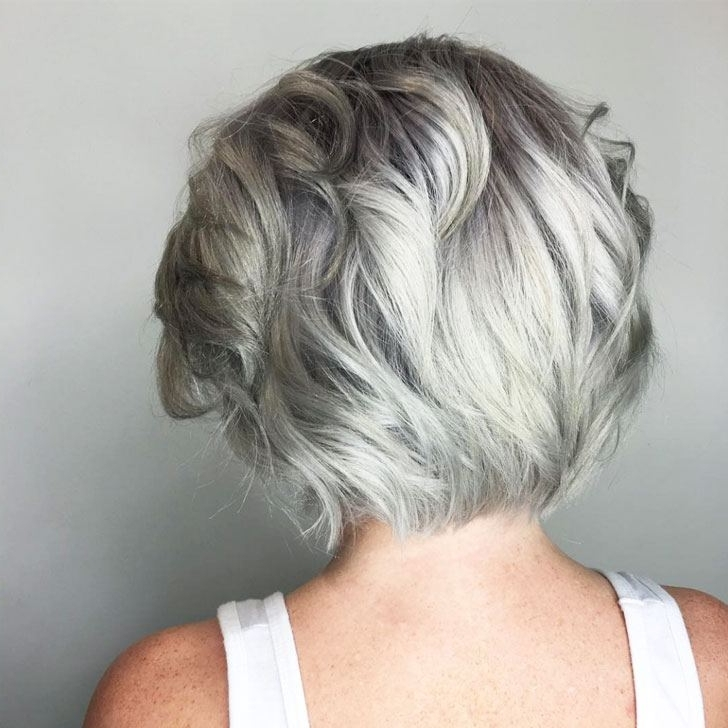 40 Best Hairstyles For Grey Hair That Make You Look 10 Years Younger Inside Most Recently Reverse Gray Ombre Pixie Hairstyles For Short Hair (View 7 of 25)