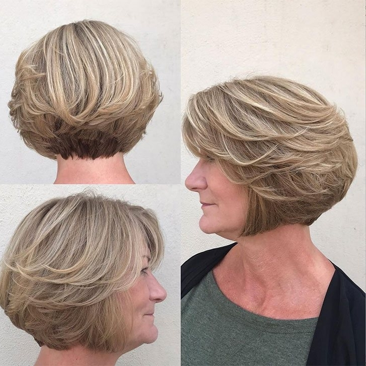 40 Best Short Hairstyles For Women Over 60 Inside Newest Brunette Pixie Hairstyles With Feathered Layers (View 16 of 25)