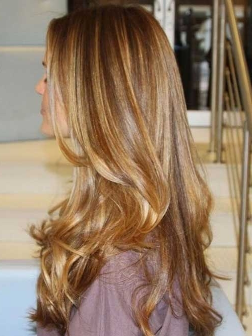 40 Blonde And Dark Brown Hair Color Ideas | Hairstyles & Haircuts Inside Caramel Blonde Hairstyles (View 8 of 25)