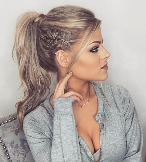 40 Chic Messy Updos For Long Hair | Pony Pony | Pinterest | Formal In Hot High Rebellious Ponytail Hairstyles (View 5 of 25)