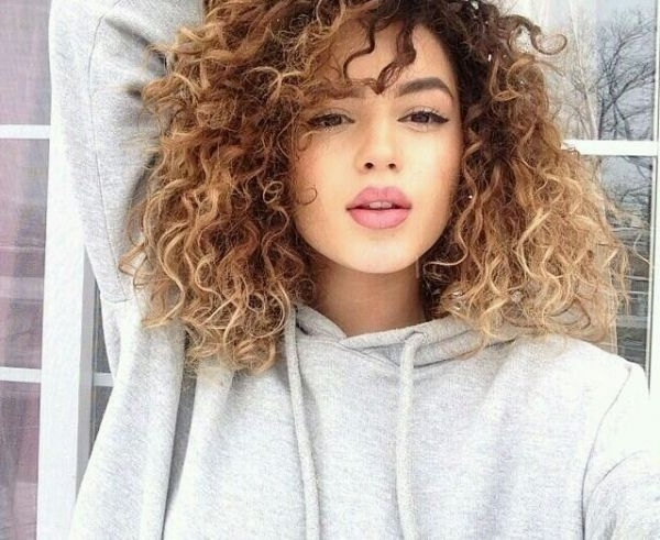40 Curly Hair Inspos That Every Curly Girl Will Appreciate With Brown To Blonde Ombre Curls Hairstyles (View 5 of 25)