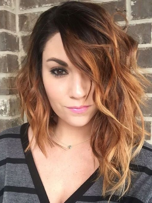 40 Eye Catching Asymmetrical Haircuts For Women – Page 14 Of 40 Inside Asymmetrical Curly Ponytail Hairstyles (View 17 of 25)