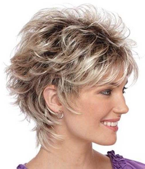 40 Fabulous Short Layered Haircuts | Hair Cuts | Pinterest | Short Intended For Most Recently Brunette Pixie Hairstyles With Feathered Layers (View 4 of 25)