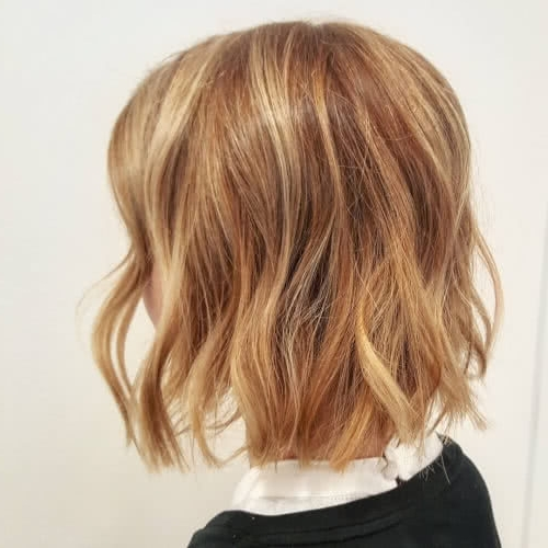 40 Gorgeous And Easy Medium To Shoulder Length Bob Haircuts Pertaining To Classic Blonde Bob With A Modern Twist (View 16 of 25)