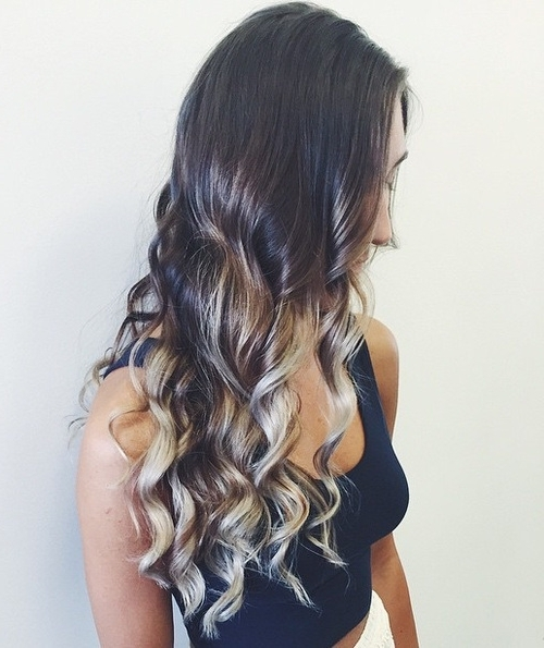 40 Gorgeous Ways To Rock Blonde & Silver Hair! – Hairstyles Weekly Within Dark Brown Hair Hairstyles With Silver Blonde Highlights (View 22 of 25)
