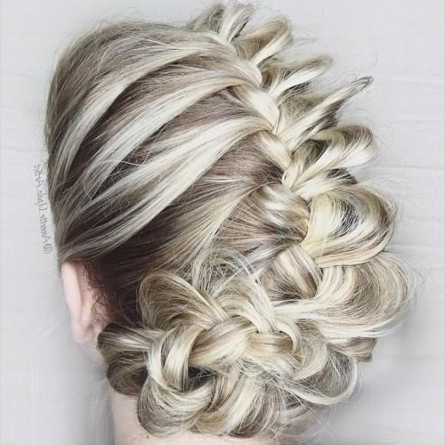 40 Hair ?olor Ideas With White And Platinum Blonde Hair | Blonde With Regard To White Wedding Blonde Hairstyles (View 16 of 25)