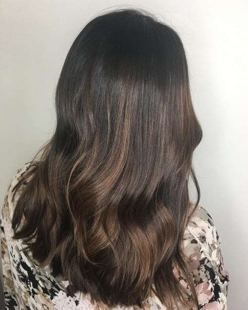 40 Hottest Chocolate Brown Hair Color Ideas Of 2018 For Beige Balayage For Light Brown Hair (View 10 of 25)