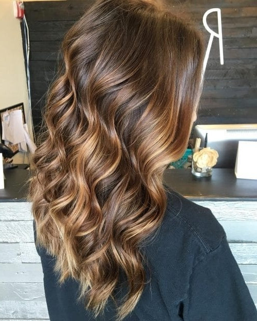 40 Hottest Chocolate Brown Hair Color Ideas Of 2018 With Regard To Beige Balayage For Light Brown Hair (View 13 of 25)