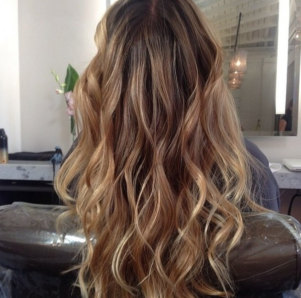 40 Latest Hottest Hair Colour Ideas For Women – Hair Color Trends 2018 With Brunette Hairstyles With Dirty Blonde Ends (View 11 of 25)