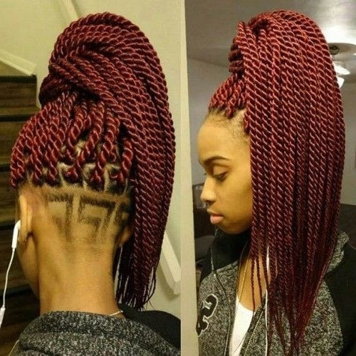 40 Senegalese Twist Hairstyles For Black Women | Recruit2Network Throughout Black Layered Senegalese Twists Pony Hairstyles (View 8 of 25)