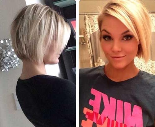 40 Short Haircut Ideas – Love This Hair For Posh Bob Blonde Hairstyles (View 23 of 25)