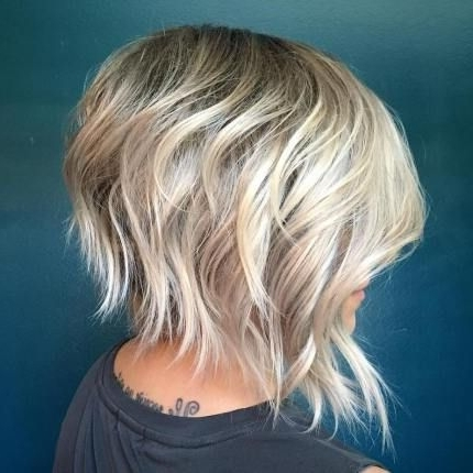 40 Short Shag Hairstyles That You Simply Can't Miss | Shaggy Bob With Regard To Most Recent Shaggy Pixie Hairstyles With Balayage Highlights (View 23 of 25)