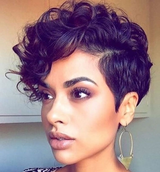 40 Short Super Spunky Shag Hairstyles In Most Recent Tousled Pixie Hairstyles With Undercut (View 21 of 25)