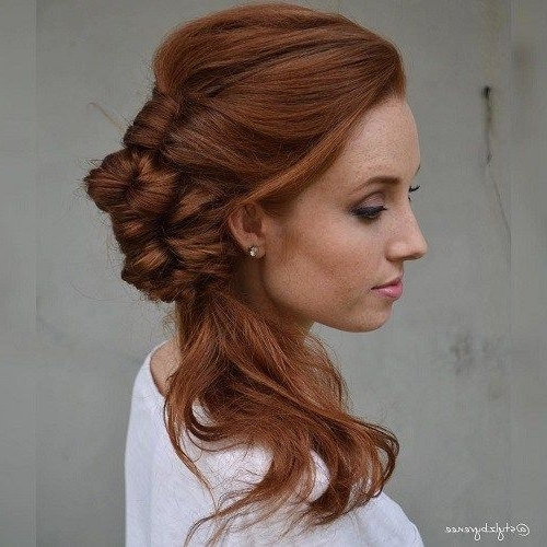 Featured Photo of Fancy Side Ponytail Hairstyles