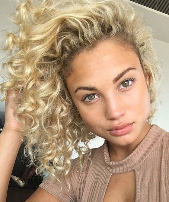 40 Styles To Choose From When Perming Your Hair | Hair | Pinterest Inside Bodacious Blonde Waves Blonde Hairstyles (View 11 of 25)