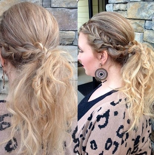 40 Super Simple Messy Ponytail Hairstyles | Hairstyles | Pinterest Pertaining To Simple Side Messy Ponytail Hairstyles (View 2 of 25)