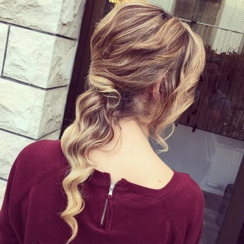 Featured Photo of Low Hanging Ponytail Hairstyles