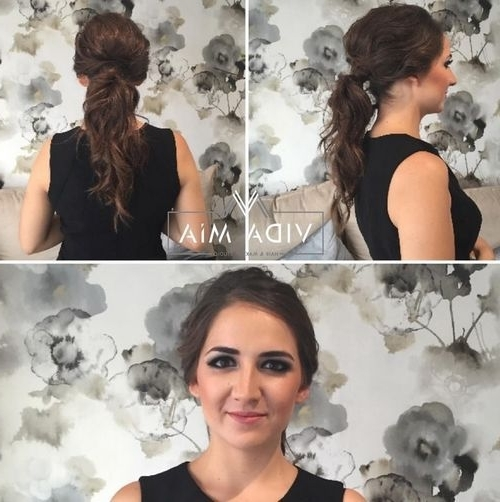 40 Super Simple Messy Ponytail Hairstyles – Page 35 – Foliver Blog Pertaining To Messy And Teased Gray Pony Hairstyles (View 9 of 25)