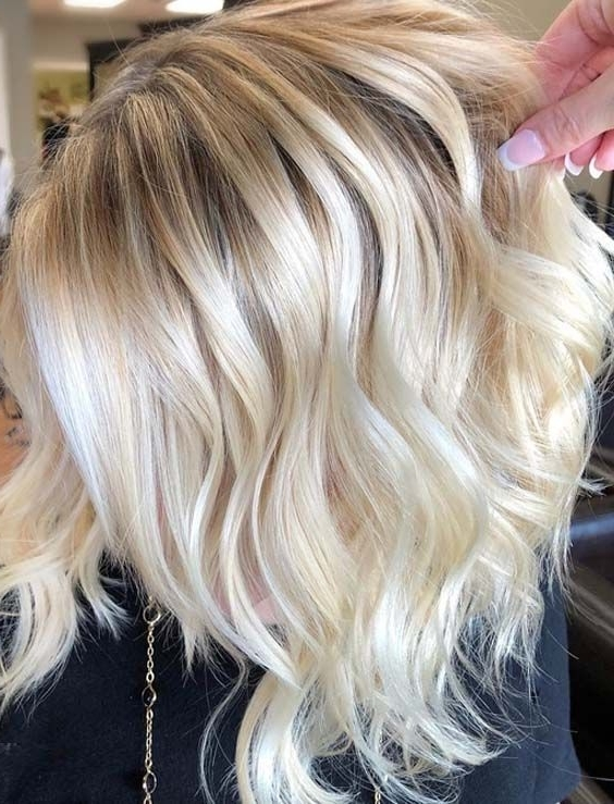 41 Beautiful Butter Blonde Hair Highlights For 2018 | Butter Blonde With Regard To Buttery Blonde Hairstyles (View 8 of 25)