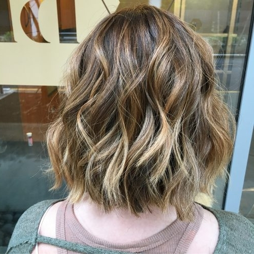 41 Incredible Dark Brown Hair With Highlights (Trending For 2018) Regarding Brunette Hairstyles With Dirty Blonde Ends (View 10 of 25)