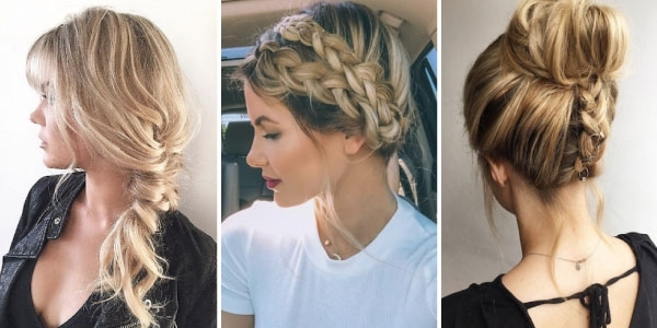41 Of Our Favorite No Fuss Updos For Summer – Style Skinner Throughout No Fuss Dirty Blonde Hairstyles (View 18 of 25)