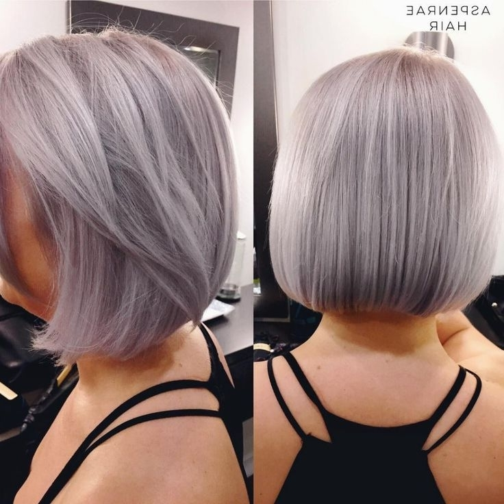 415 Best ???????? Images On Pinterest | Colourful Hair, Hair Ideas Within Blonde Bob Hairstyles With Lavender Tint (View 17 of 25)