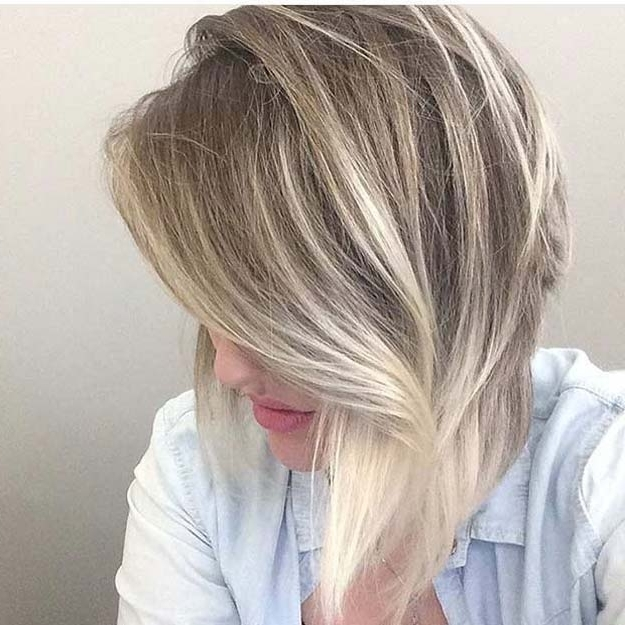 42 Balayage Ideas For Short Hair – The Goddess For Best And Newest Feathered Pixie With Balayage Highlights (View 9 of 25)
