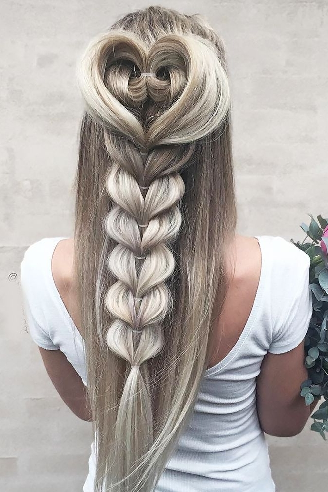 42 Boho Inspired Unique And Creative Wedding Hairstyles | Wedding Inside Brunette Macrame Braid Hairstyles (View 12 of 25)