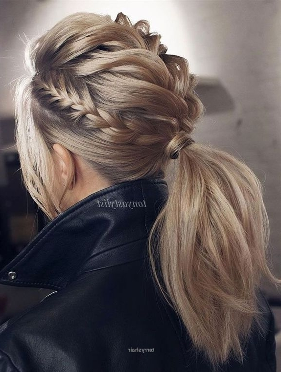 43 Best Ponytail Hairstyles Images On Pinterest | Ball Hair, Beleza Intended For Blonde Flirty Teased Ponytail Hairstyles (View 22 of 25)