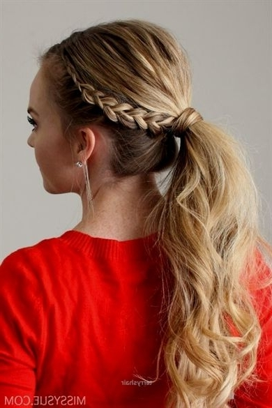 43 Best Ponytail Hairstyles Images On Pinterest | Ball Hair, Beleza Pertaining To Blonde Flirty Teased Ponytail Hairstyles (View 20 of 25)