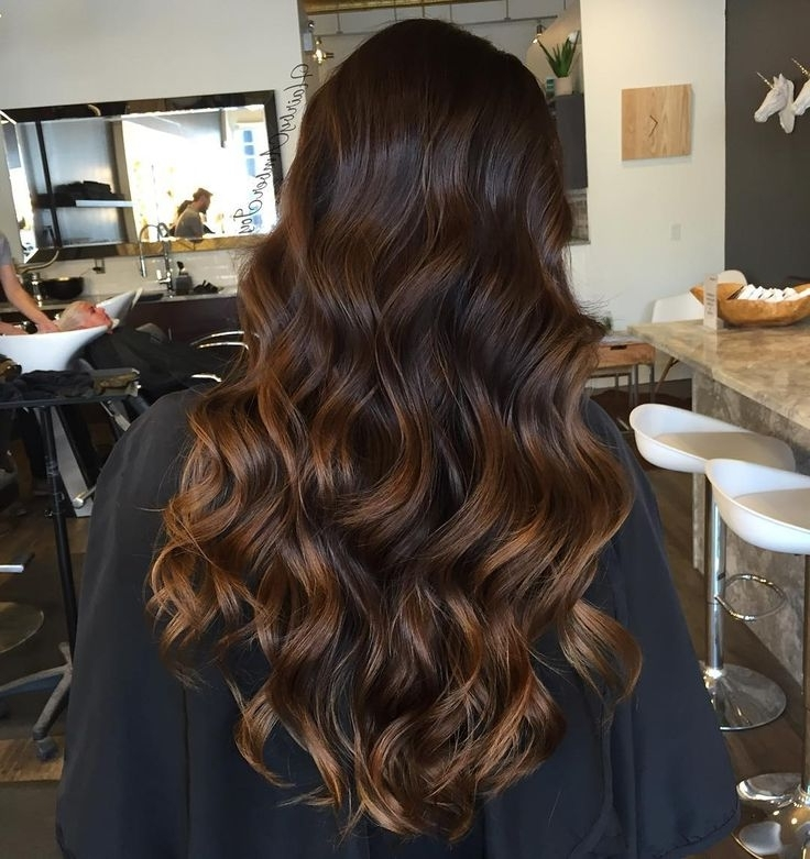 444 Best Hair Images On Pinterest | Cute Hairstyles, Easy Hairstyle Pertaining To Dark Locks Blonde Hairstyles With Caramel Highlights (View 21 of 25)
