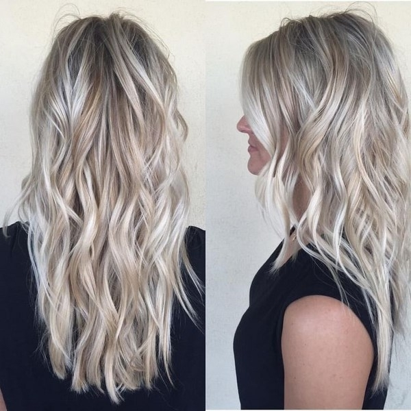 45 Adorable Ash Blonde Hairstyles – Stylish Blonde Hair Color Shades In Feathered Ash Blonde Hairstyles (View 7 of 25)