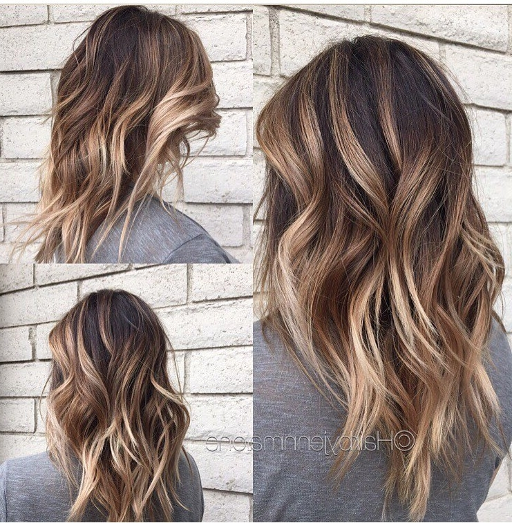 45 Balayage Hairstyles 2018 – Balayage Hair Color Ideas With Blonde For Caramel Blonde Hairstyles (View 19 of 25)