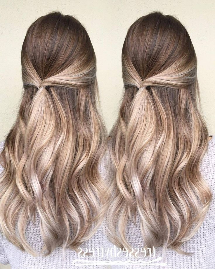 45 Balayage Hairstyles 2018 – Balayage Hair Color Ideas With Blonde Inside Cool Dirty Blonde Balayage Hairstyles (View 20 of 25)