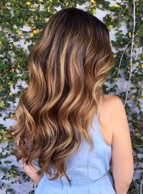 45 Balayage Hairstyles 2018 – Balayage Hair Color Ideas With Blonde Intended For Multi Tonal Golden Bob Blonde Hairstyles (View 6 of 25)
