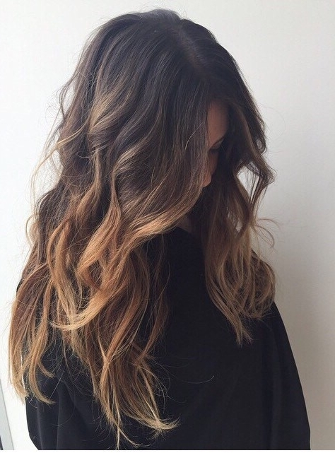 45 Balayage Hairstyles 2018 – Balayage Hair Color Ideas With Blonde Regarding Bronde Beach Waves Blonde Hairstyles (View 23 of 25)